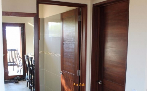 Hall Mirror and Doors to Bed and Bathroom. Interior of Tes #35