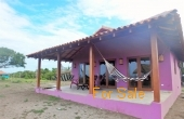 Patio of Purple house at Playa Tesoro #35