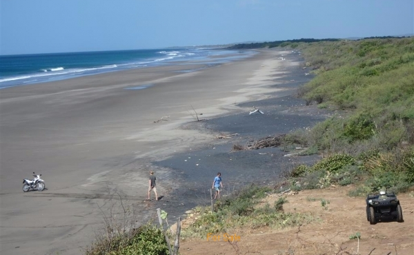 Over 7 miles of untouched beach and 1600 acres to explore on ATV and Motorcycles