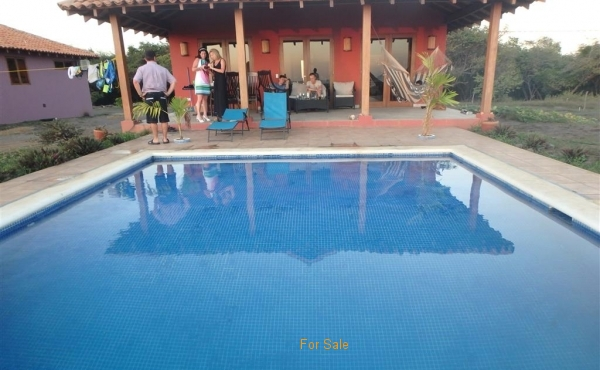 Pool Wedding at Tes #36 Red House