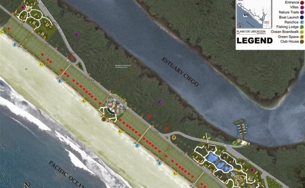 May 2017 Master Plan Of Development. Close to sold out with beach lots remaining in inventory